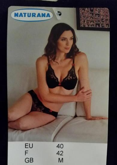 5 ensemble lingerie rouge naturana
