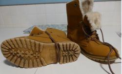 Boots daim 3