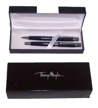 Coffret stylo et criterium thierry mugler