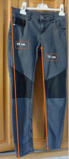 Jean gris forme equitation t 36 r
