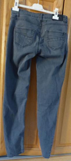 Jeans gris forme equitaton t 36