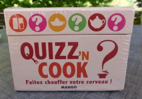 Jeu quizz n cook face