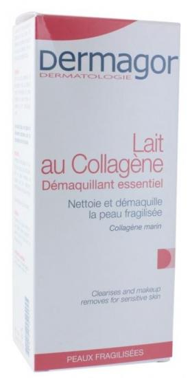 Lait dermagor au collagene