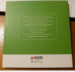 Livre actifry v