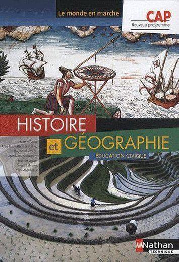 Livre cap histoire et geographie