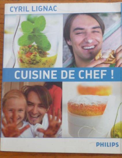 Livre cuisine de chef cyril lignac r