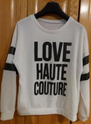 Lot 2 de 3 pull love haute couture taille m