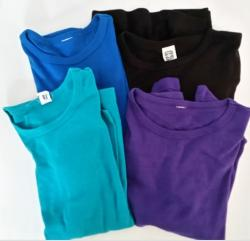 Lot 4 polos manches longues taille 10 ans