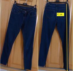 Lot b 2 de 3 jeans bleu fonce fille taille 34
