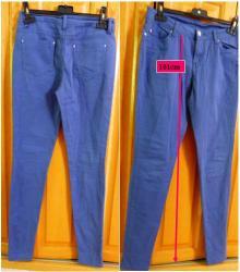 Lot c 2 de 2 pantalon bleu moyen taille 36