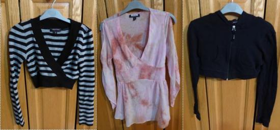 Lot vetements fille taille s
