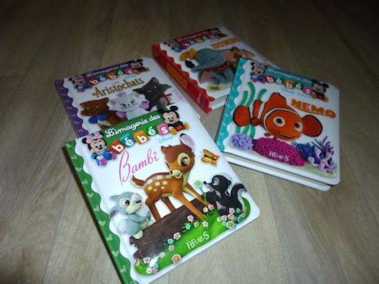 Mini livres imagerie des bb
