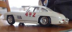 Miniature mercedes 300 sl 2