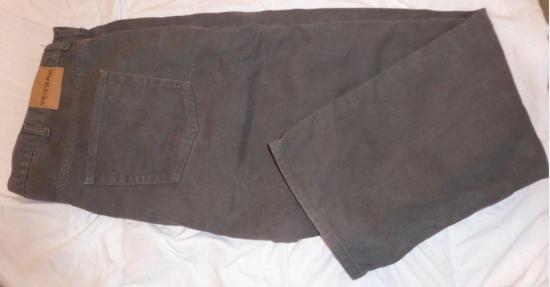 Pantalon homme gris kiabi taille 58 plie