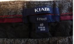 Pantalon homme kiabi gris chine t60 etiquette