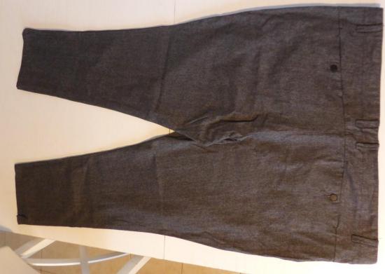 Pantalon homme kiabi gris chine t60 v 1