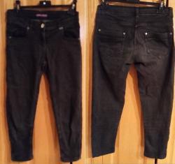 Pantalon jean noir fille taille 16 ans occasion