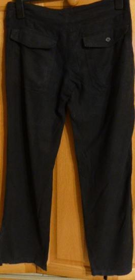 Pantalon noir toile cindy t 38 v