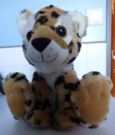 Peluche leopard