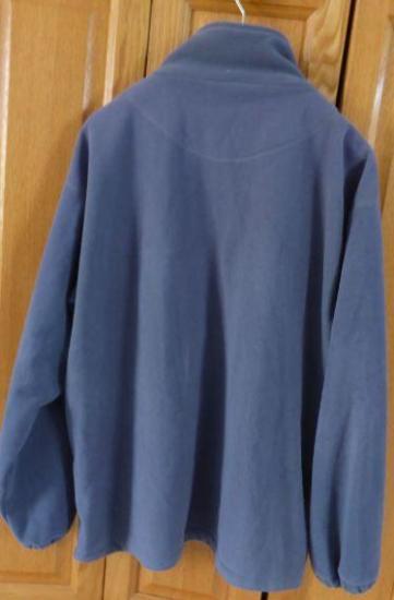 Polaire bleue marine xxl v