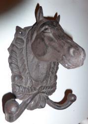 Porte manteau cheval 1