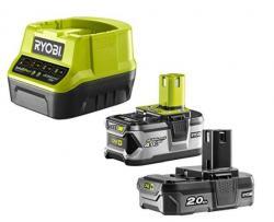 Ryobi pack 2 batteries