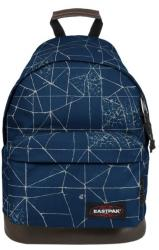 Sac a dos eastpak cracked blue1