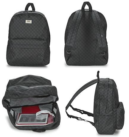 Sac a dos vans old skool ii backpack noir et gris jpg