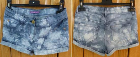 Short jean taille 12 ans