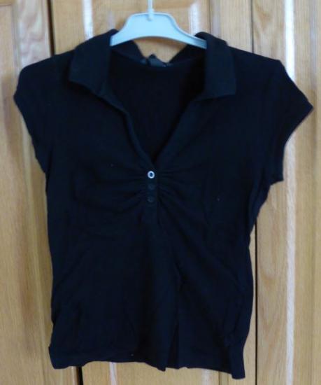 T shirt noir h m cindy taille xs