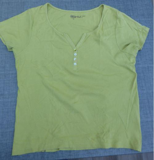 T shirt vert anis 46 48