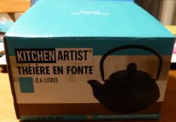 Theiere fonte kitchen artist boite